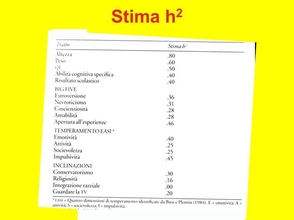 Stima h 2