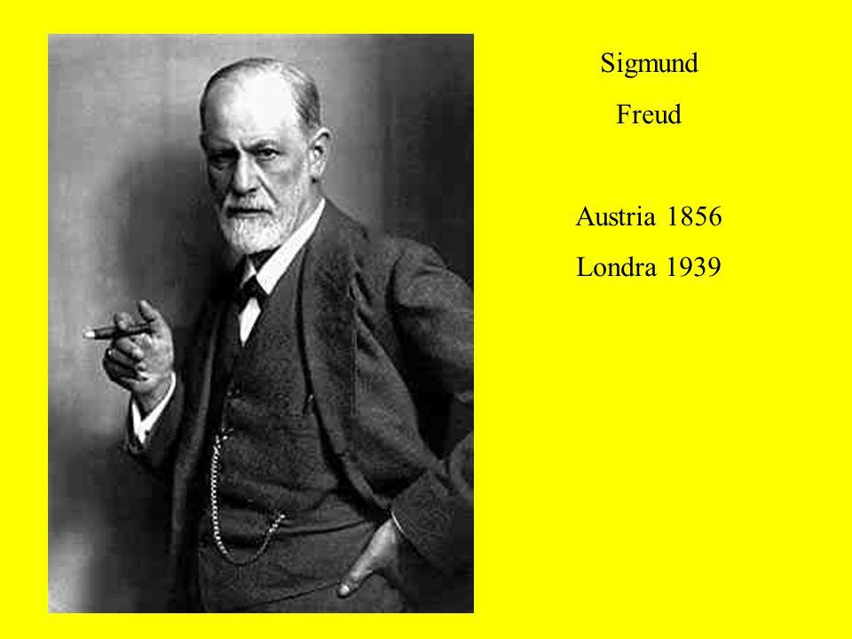 Sigmund Freud Austria 1856 Londra 1939