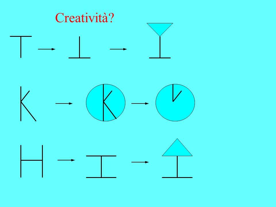 Creatività?