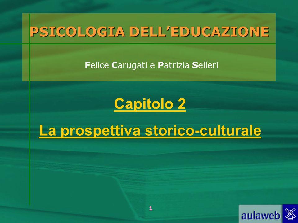 2 Carugati, Selleri - Psicologia delleducazione, Il Mulino, 2005 Capitolo 2.