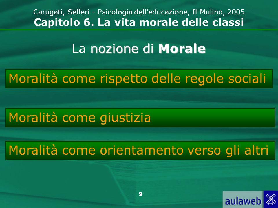 10 Carugati, Selleri - Psicologia delleducazione, Il Mulino, 2005 Capitolo 6.