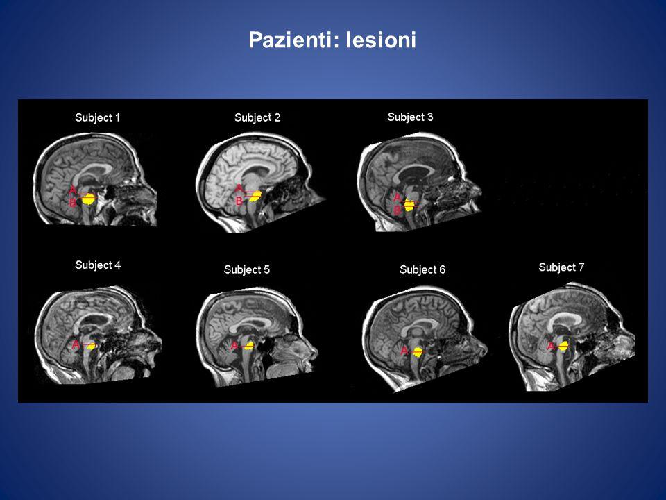 Pazienti: lesioni