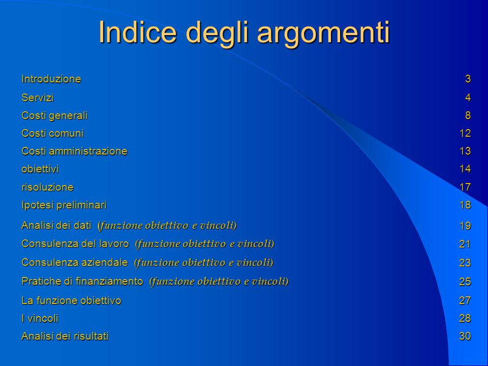 Introduzione Business Services S.r.l.