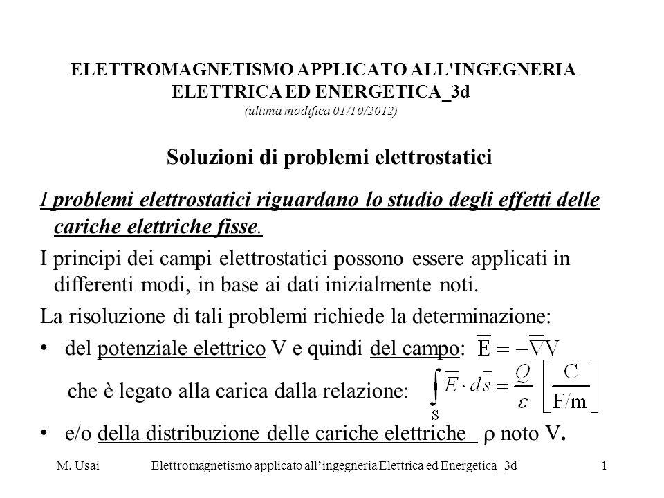 M. UsaiElettromagnetismo applicato allingegneria Elettrica ed Energetica_3d1 ELETTROMAGNETISMO APPLICATO ALL'INGEGNERIA ELETTRICA ED ENERGETICA_3d (ul