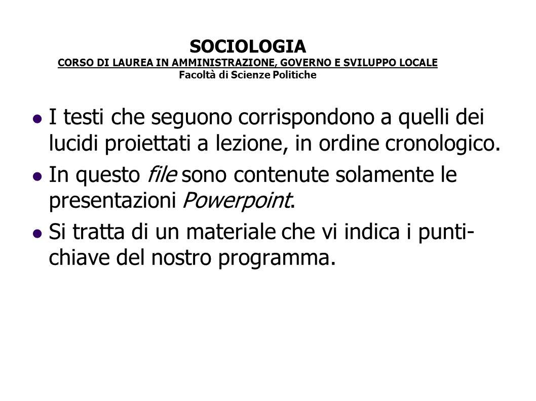 Modelli sincronici di devianza Si accetta che la devianza sia una patologia sociale e se ne ricercano le cause di tipo oggettivo.