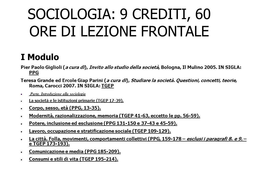 La prima sociologia dei consumi Consumo alimentare e in beni durevoli, risparmio, salario e posizione sociale.
