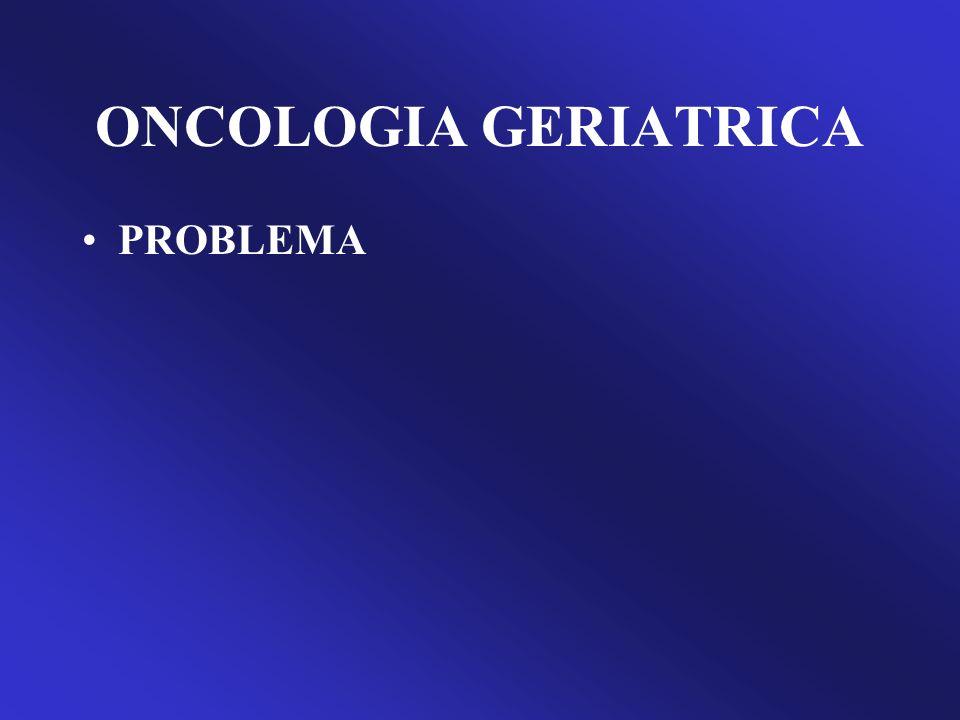 ONCOLOGIA GERIATRICA US Bureau of Census: Current population report.