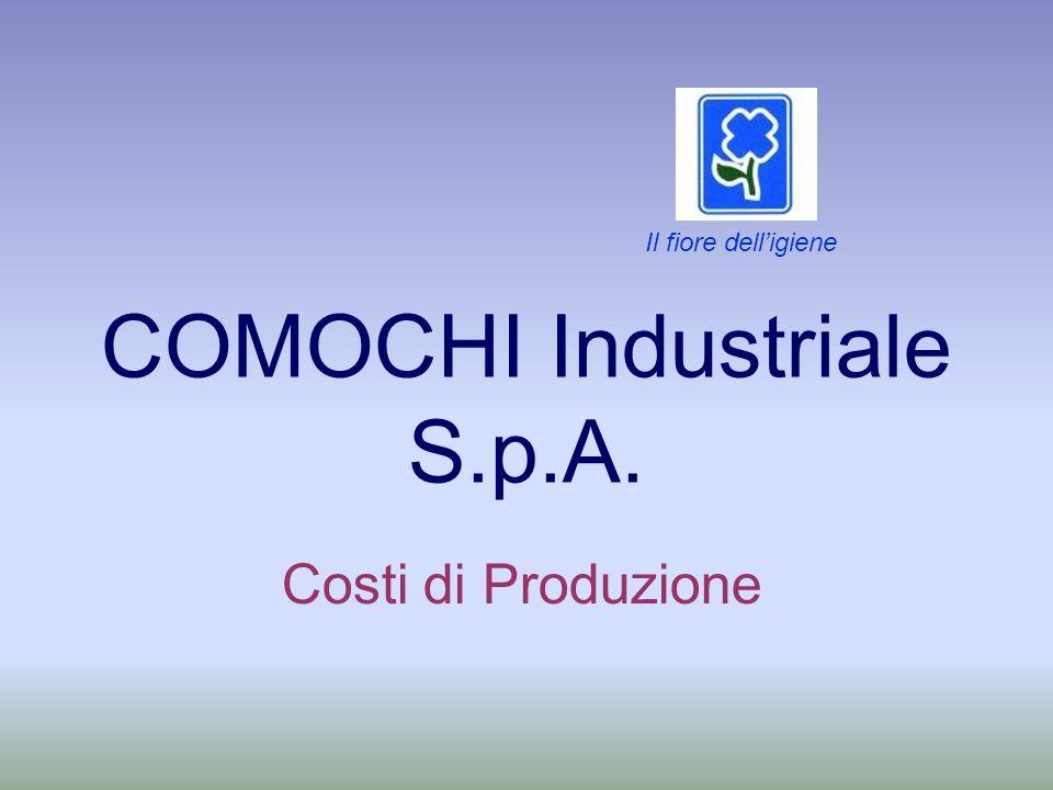 COMOCHI Industriale S.p.A. Costi di Produzione Il fiore delligiene