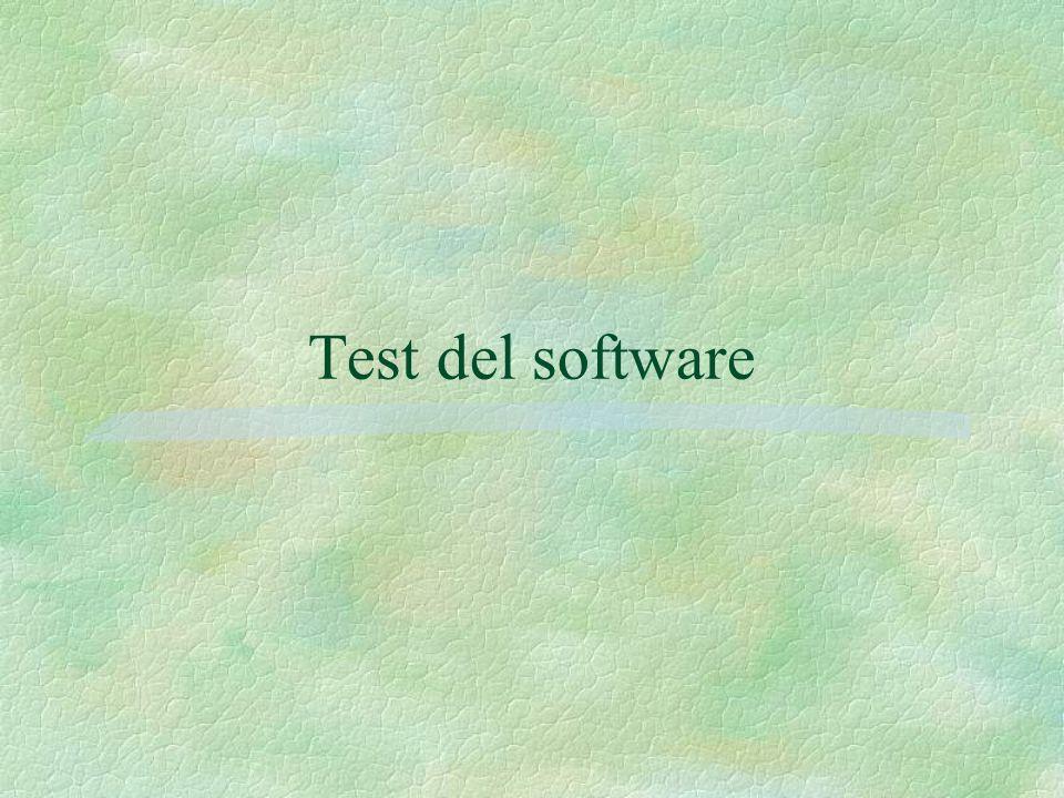 Test del software