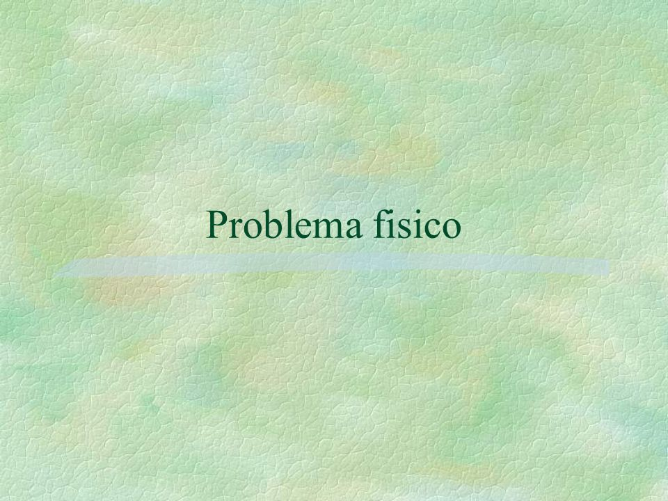 Problema fisico