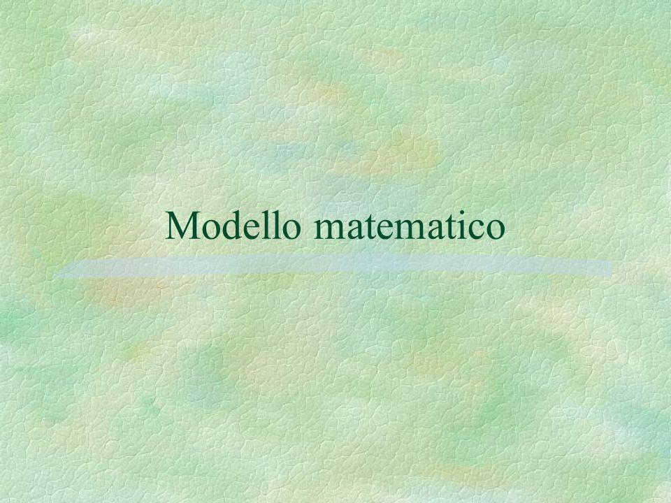 Shortest path Minimizzare m i m j ij xc 11 con mise moi i xx m k ki m j ij 1 10 11 11 x 0i,j=1,2,…..,m Massimizzarew 1 –w m conw i –w j c ij i,j = 1,2,….,m w i i = 1,2,…..,m