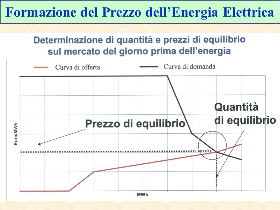 Formazione del Prezzo dellEnergia Elettrica
