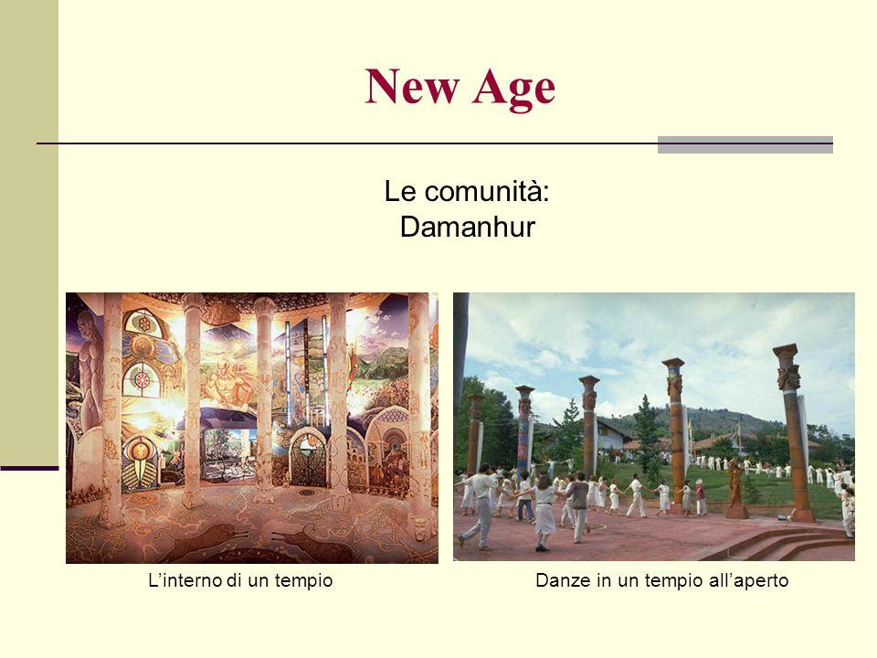 Le comunità: Damanhur New Age Linterno di un tempioDanze in un tempio allaperto