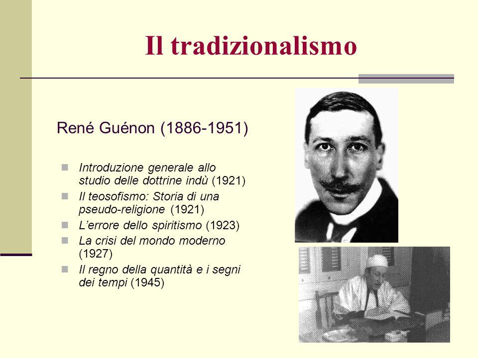 Introduzione generale allo studio delle dottrine indù (1921) Il teosofismo: Storia di una pseudo-religione (1921) Lerrore dello spiritismo (1923) La c