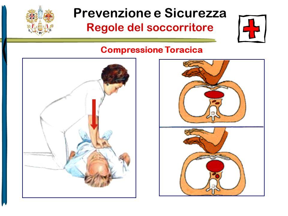 Prevenzione e Sicurezza Regole del soccorritore Compressione Toracica