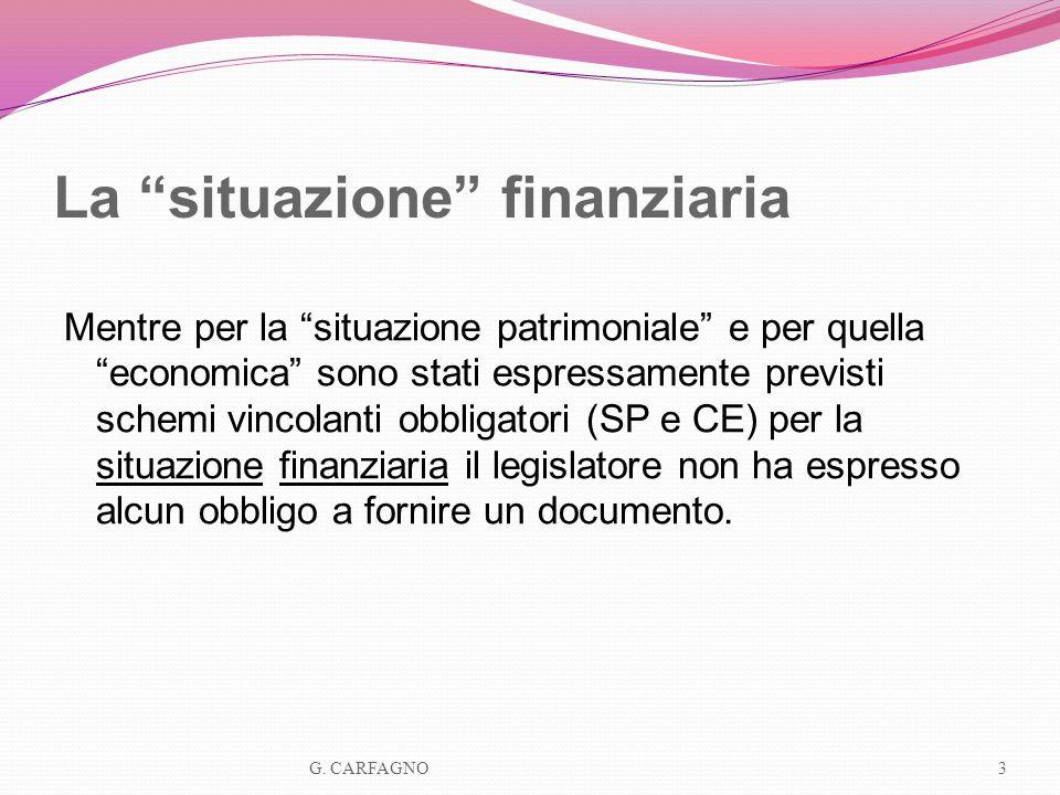 I rendiconti finanziari: finalità 1.