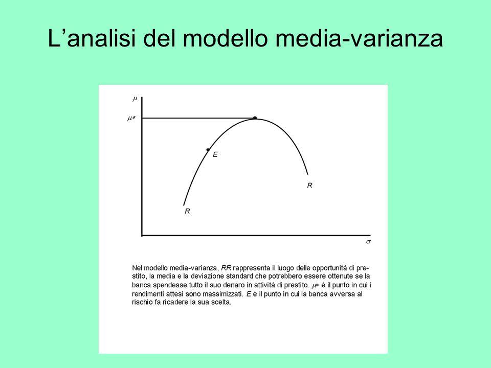 Lanalisi del modello media-varianza