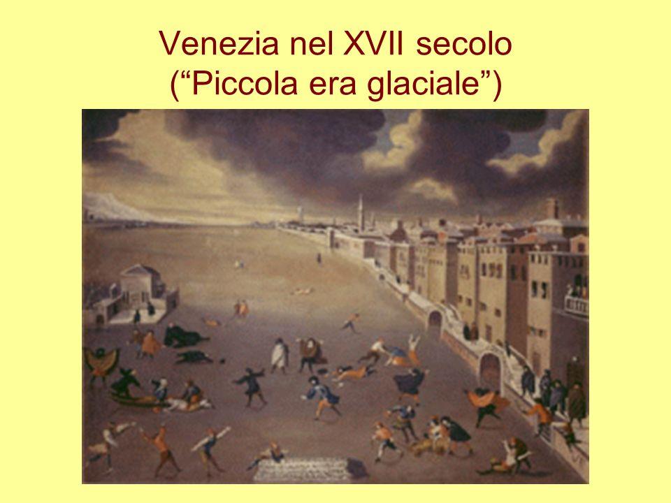 Venezia nel XVII secolo (Piccola era glaciale)