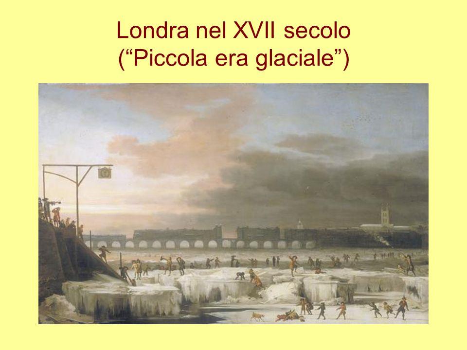 Londra nel XVII secolo (Piccola era glaciale)