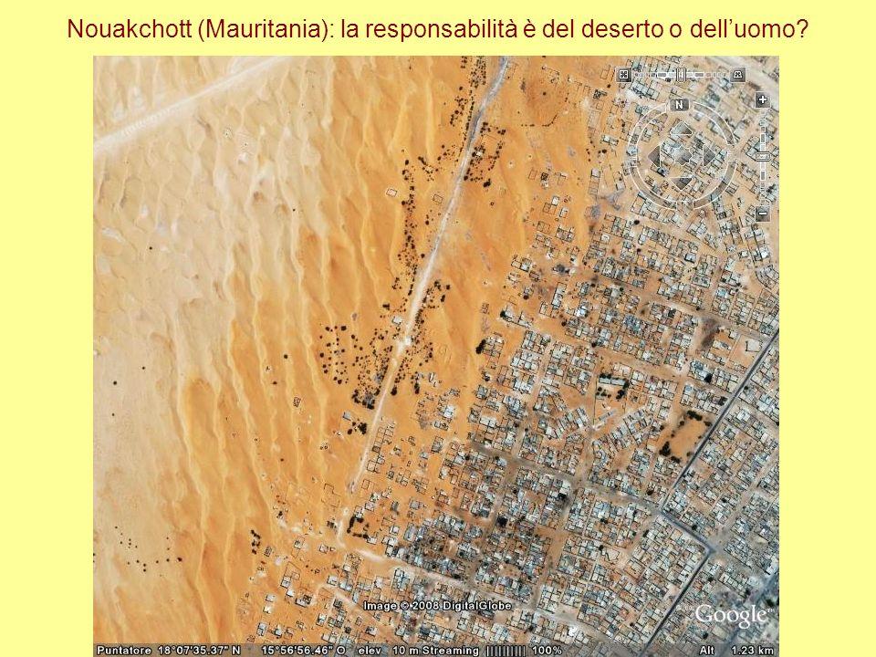Nouakchott (Mauritania): la responsabilità è del deserto o delluomo?