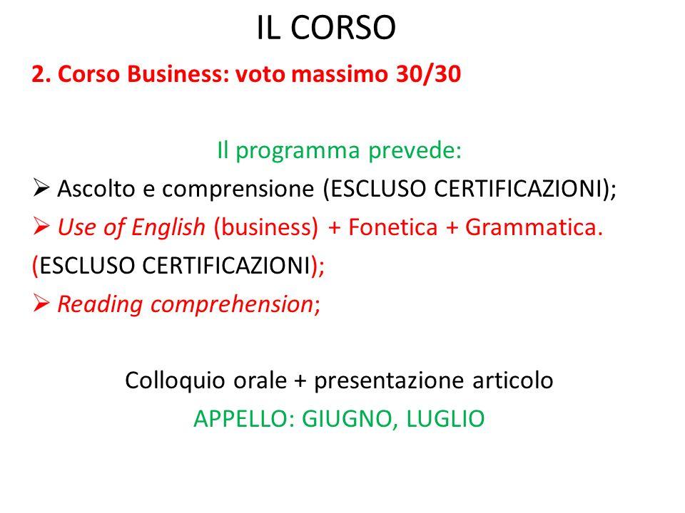 IL CORSO 2.