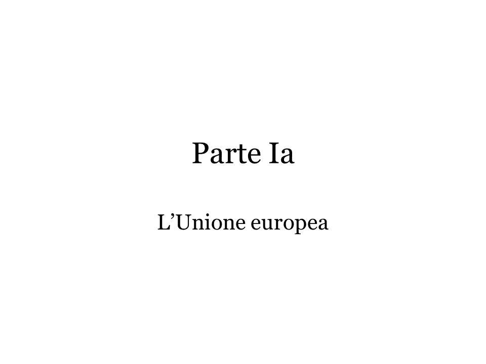 Parte Ia LUnione europea