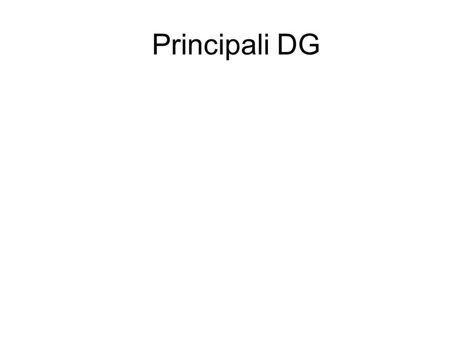 Principali DG