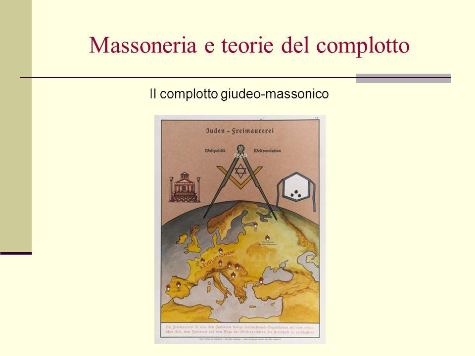 Massoneria e teorie del complotto Il complotto giudeo-massonico
