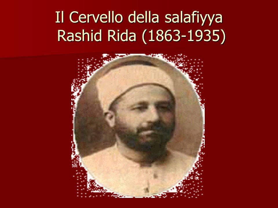 Il Cervello della salafiyya Rashid Rida (1863-1935)