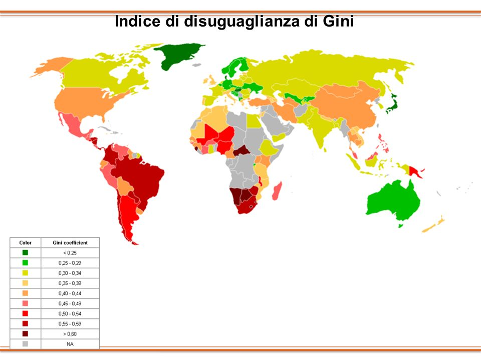 Indice di disuguaglianza di Gini