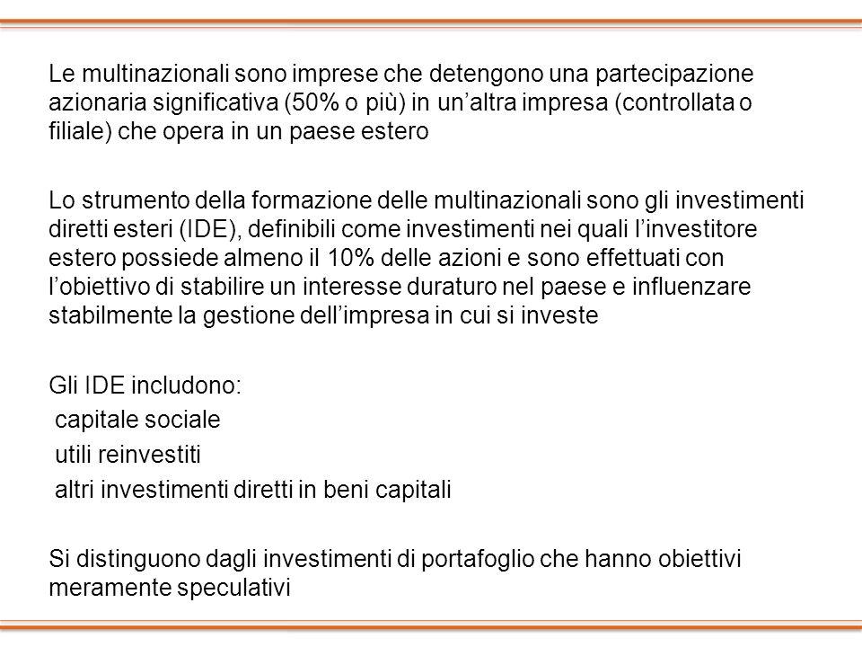 Gli attori Banche commerciali Imprese multinazionali Istituzioni finanziarie non bancarie Banche centrali e agenzie governative Organizzazioni internazionali (FMI, Banca mondiale)
