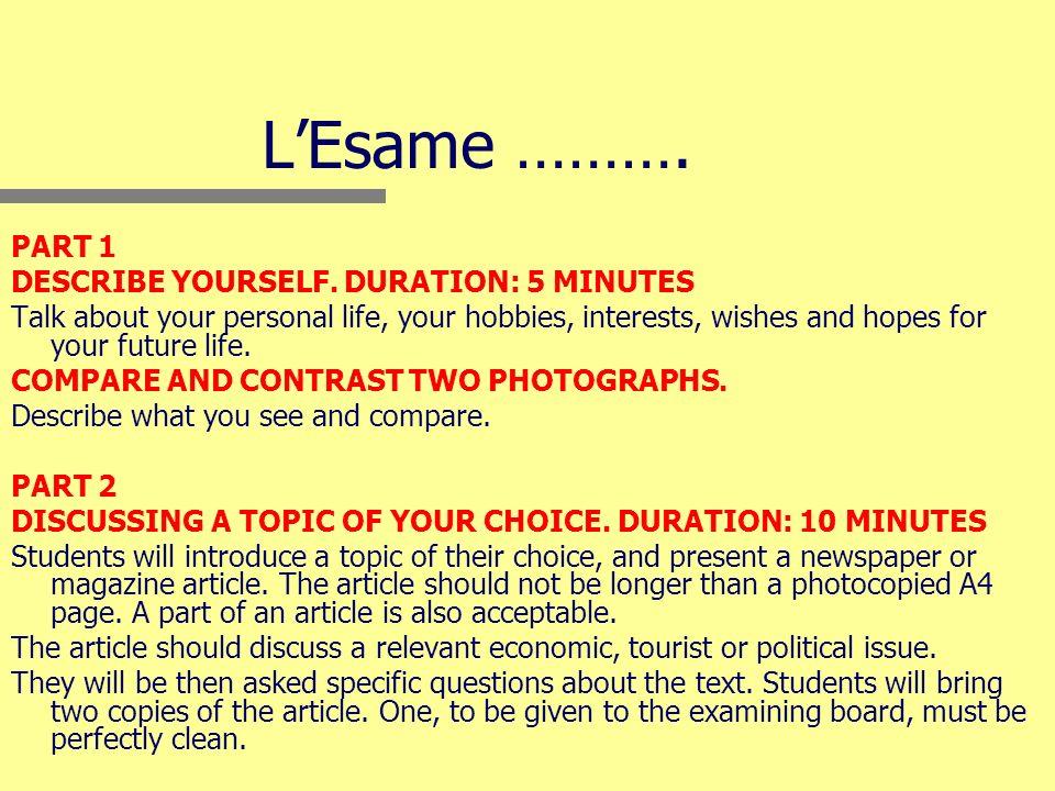 LESAME La Reading ……..True or false.