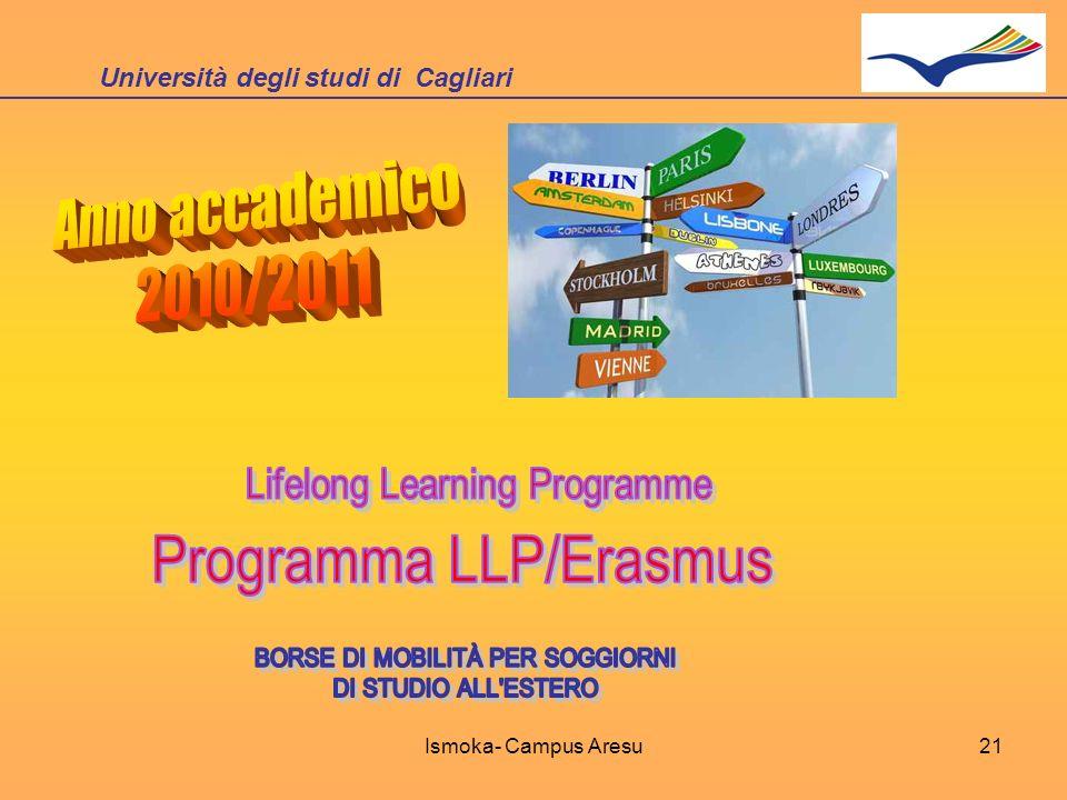 Università degli studi di Cagliari Ismoka- Campus Aresu21