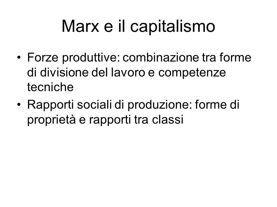 Capitalismo è unorganizzazione economica di scambio in cui collaborano, uniti dal mercato, due diversi gruppi di popolazione, i proprietari dei mezzi di produzione e i lavoratori nullatenenti.