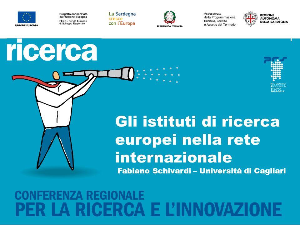 11 Gli istituti di ricerca europei nella rete internazionale Fabiano Schivardi – Università di Cagliari