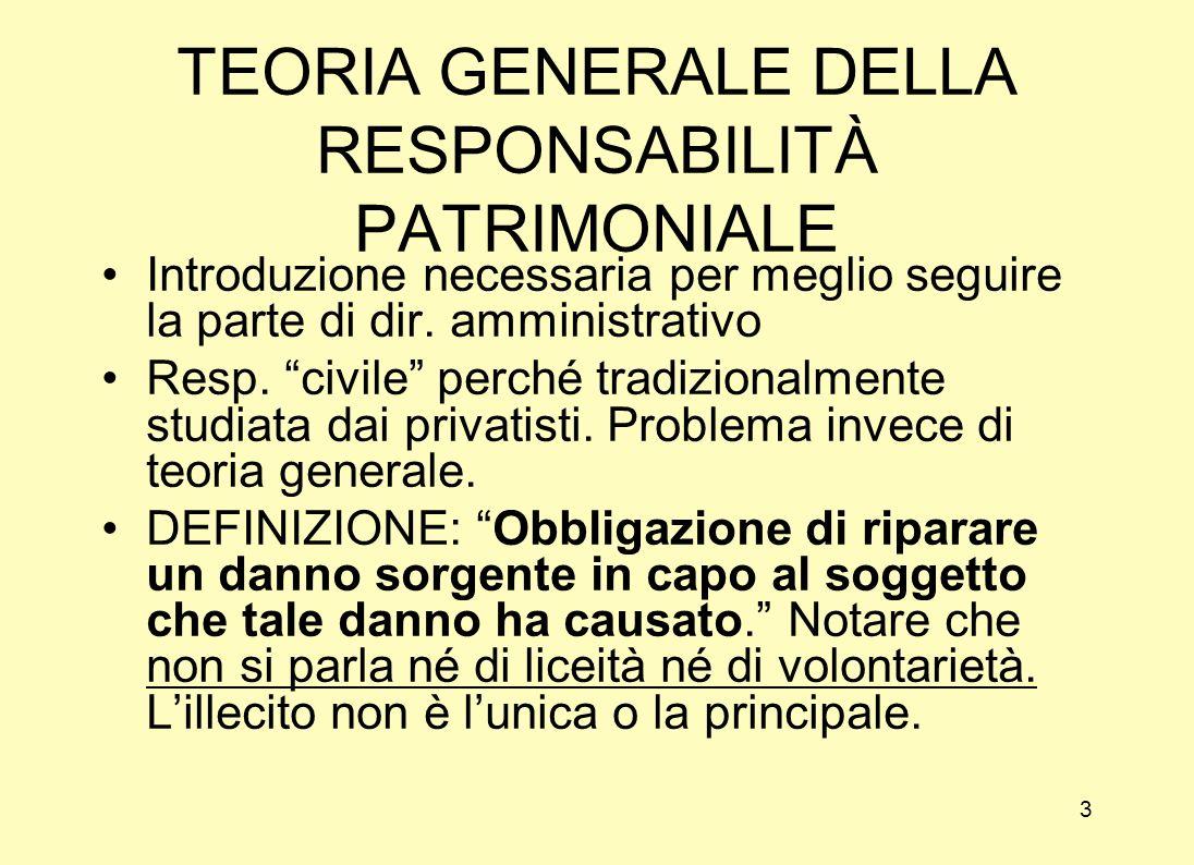 13 RESPONSABILITÀ DELLA PUBBLICA AMMINISTRAZIONE Inquadramento Tutela del cittadino Tutela nel diritto sostanziale Tutela contenziosa