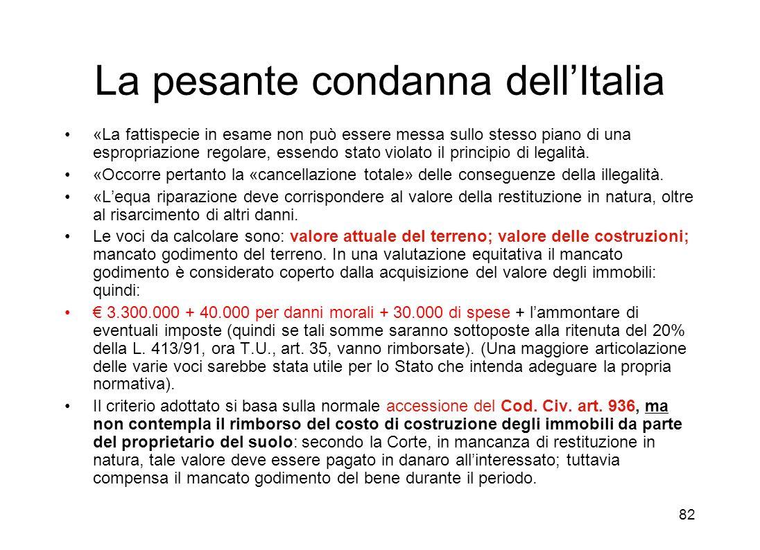 81 Valore della controversia alla entrata in vigore del 7 bis (1996): 265 milioni di lire + rivalutazione ed interessi. Richiesta delle parti valeur d