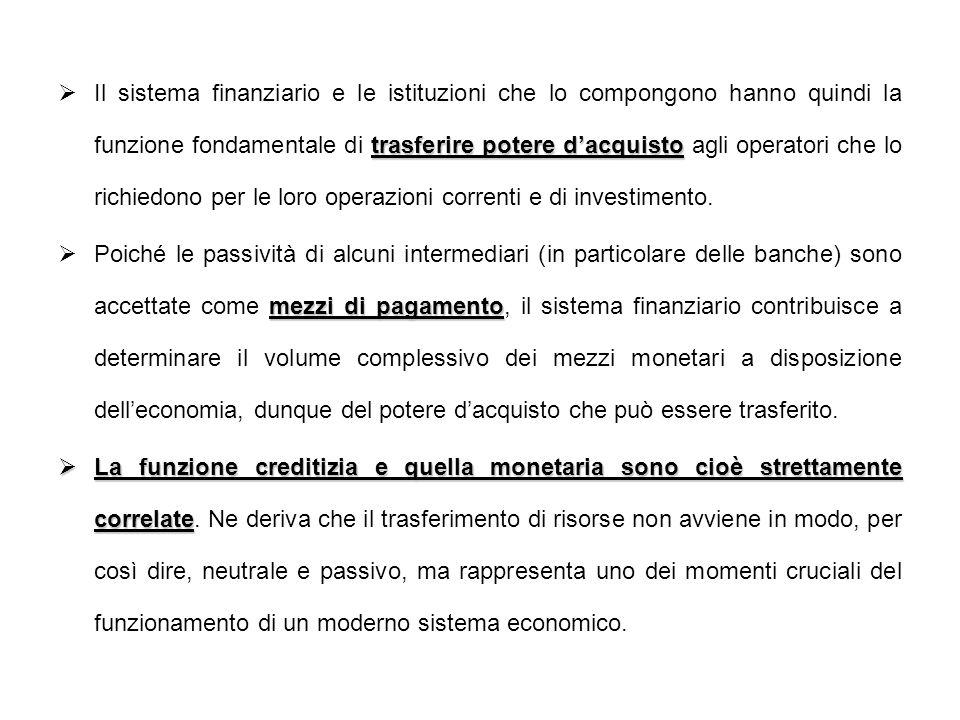 Sul primo versante (vigilanza sul settore creditizio - Banca dItalia), la regolamentazione si è preoccupata soprattutto di assicurare la stabilità e lefficienza.