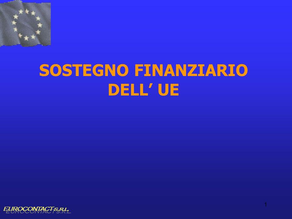 1 SOSTEGNO FINANZIARIO DELL UE EUROCONTACT s.r.l.