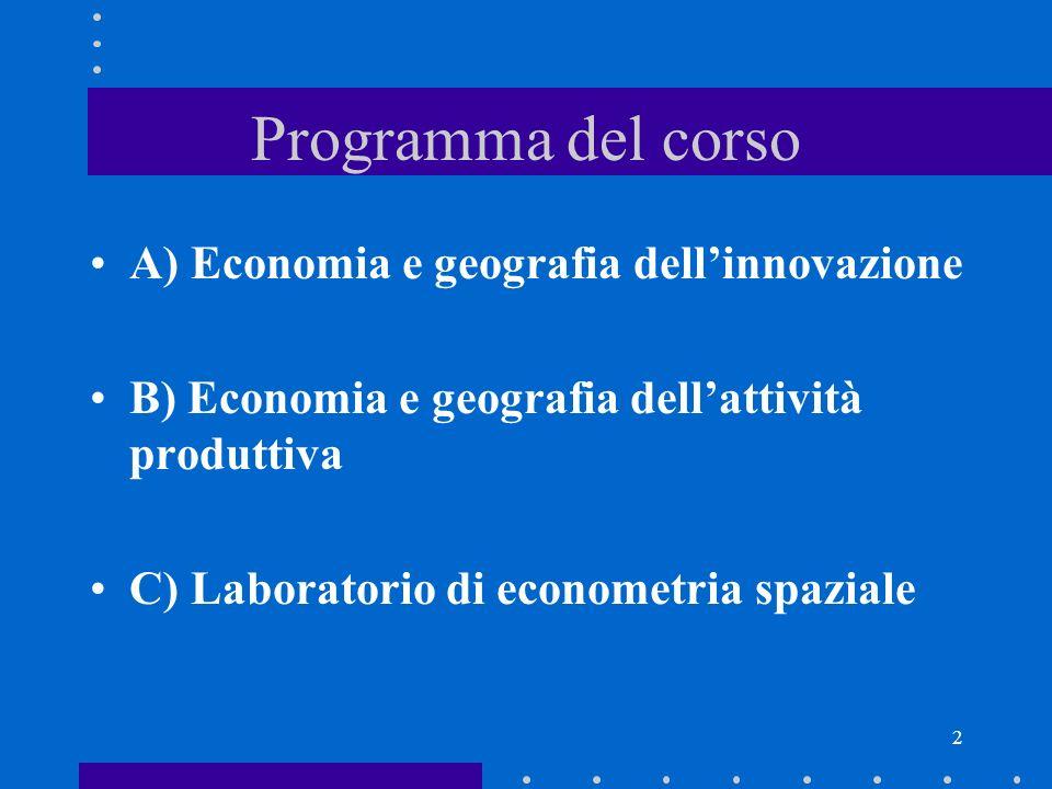 Economia applicata avanzata Introduzione al corso A.A 2009-2010 Raffaele Paci e Stefano Usai con la collaborazione di Alessandra Colombelli e Barbara Dettori