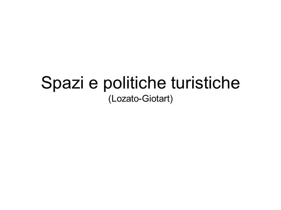 Spazi e politiche turistiche (Lozato-Giotart)