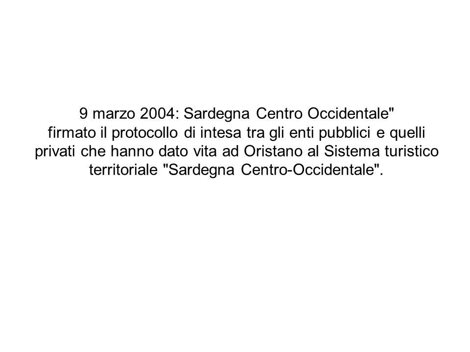 9 marzo 2004: Sardegna Centro Occidentale