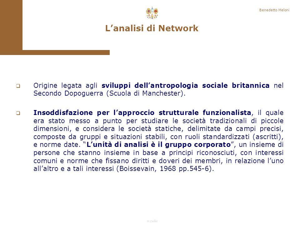 F.Callai Benedetto Meloni A seconda dei problemi toccati si potranno trovare strumenti di analisi nelle scatole degli attrezzi della sociologia economica, del lavoro, della famiglia, della politica, dello sviluppo.