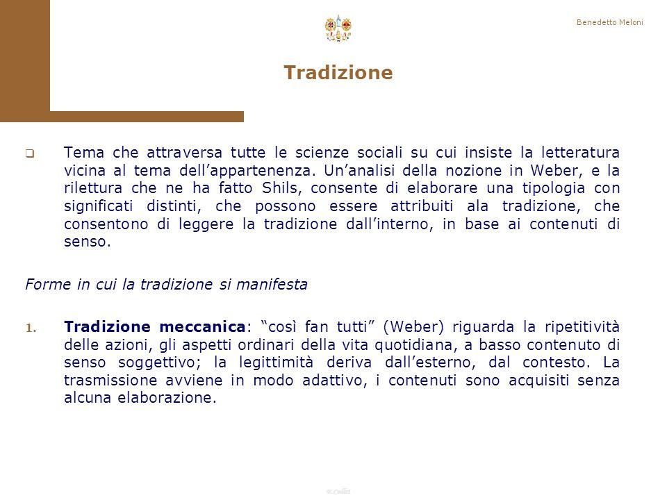 F.Callai Benedetto Meloni Relazioni forti e relazioni deboli, relazioni particolaristiche e universalistiche costituiscono le modalità attraverso cui i network strutturano opportunità e risorse.