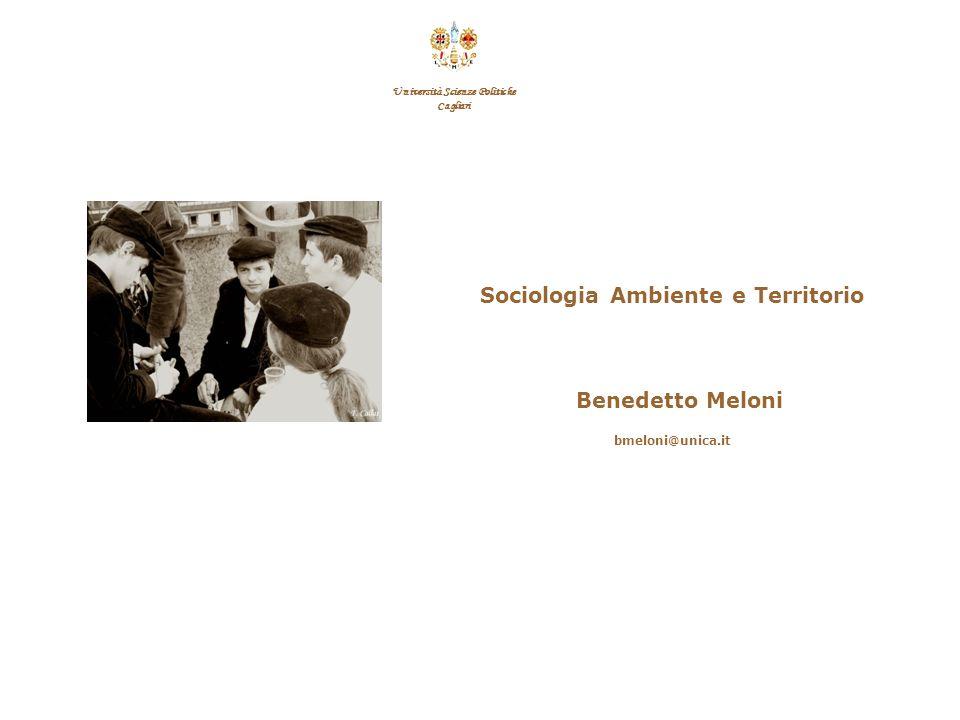 F.Callai Benedetto Meloni Da questo punto di vista non è tanto la persistenza delle appartenenze comunitarie a spiegare la difficoltà dello sviluppo o la mancata integrazione societaria, quanto i modi concreti che le appartenenze vanno assumendo.