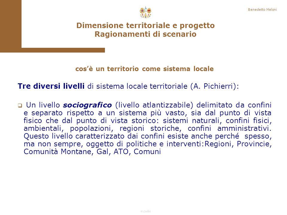 F.Callai Finalità delle azioni di sviluppo locale è creare beni individuali socialmente utili: Diffusione sociale dalle capacitazioni (A.