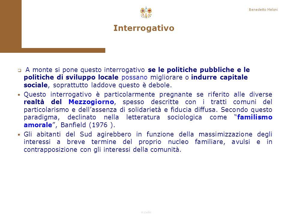 F.Callai Empowerment Benedetto Meloni Finalità delle azioni di sviluppo locale