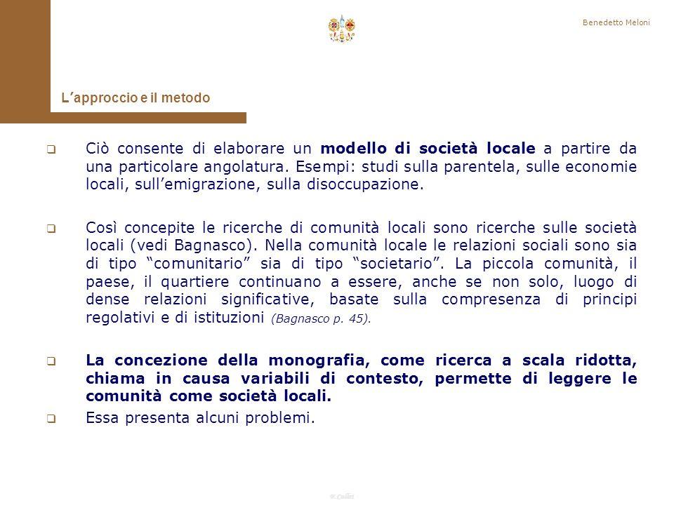 F.Callai Benedetto Meloni Ladozione di questasse esplicativo implica che attorno a esso vadano organizzati una insieme di fatti sotto osservazione, stabilendo connessioni tra questi.