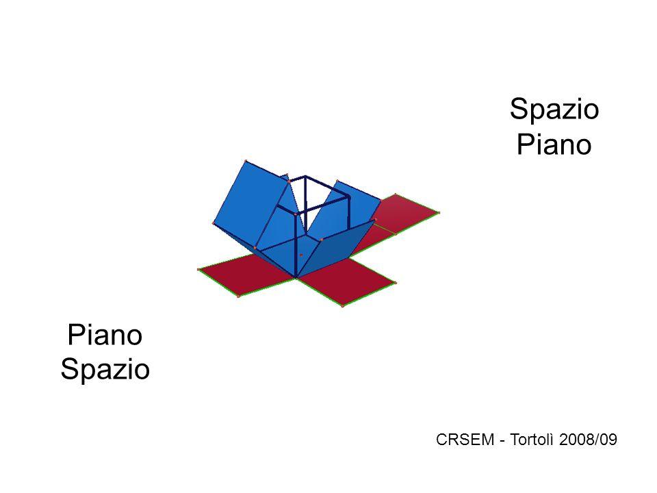 CRSEM - Tortolì 2008/09 Piano Spazio Spazio Piano Piano Spazio