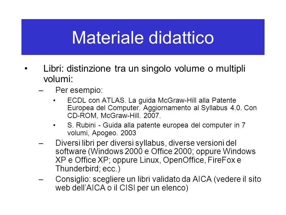 Esami Guida ufficiale di ATLAS (formato pdf, dal sito web del CISI, collegamento nella pagina Che cosè ATLAS?): http://hal9000.cisi.unito.it/wf/ CENTRI_E_L/C-I-S-I-/ECDL/ Come-ci-si/ATLAS-Guida_ECDL.pdf